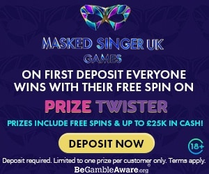 Masked Singer Games Welcome Offer